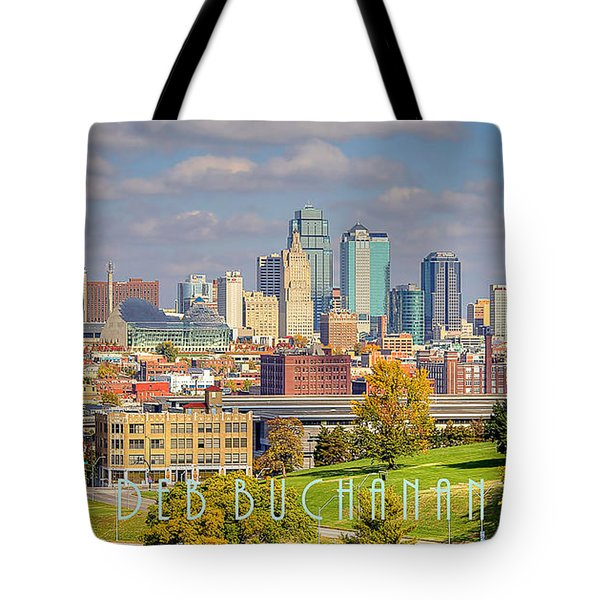 Autumn In Kansas City With Logo Tote Bag