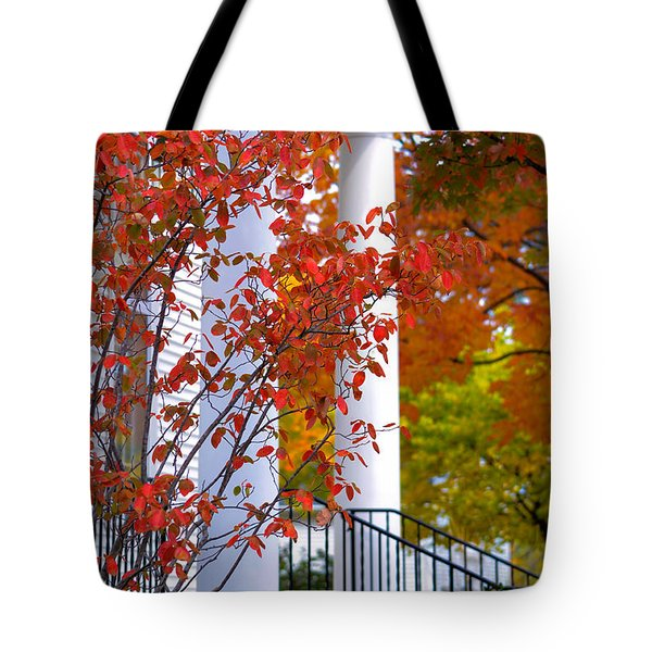 Autumn In Long Grove 2 Tote Bag by Julie Palencia
