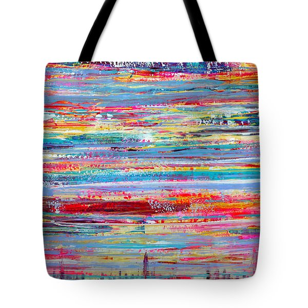 Autumn In Manhattan Tote Bag