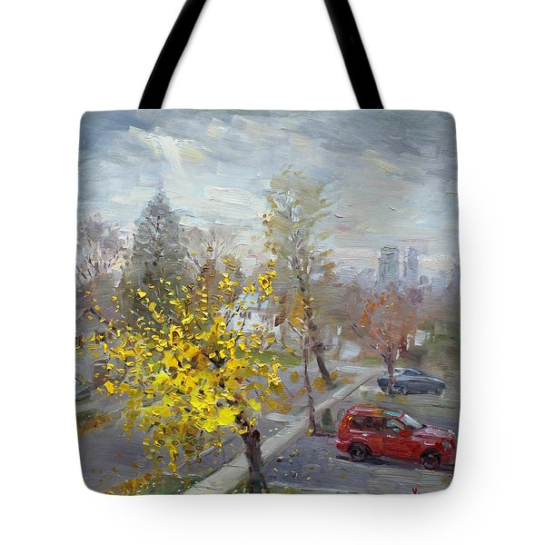 Autumn In Mississauga  Tote Bag