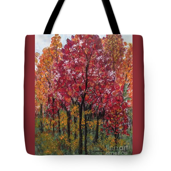Autumn In Nashville Tote Bag