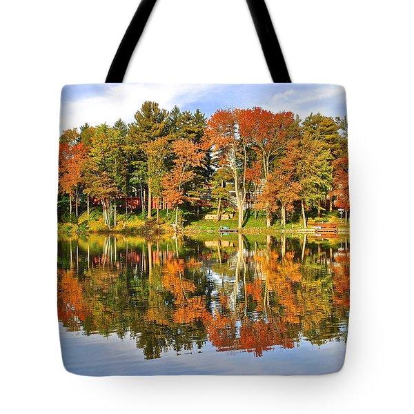 Autumn In Ohio Tote Bag