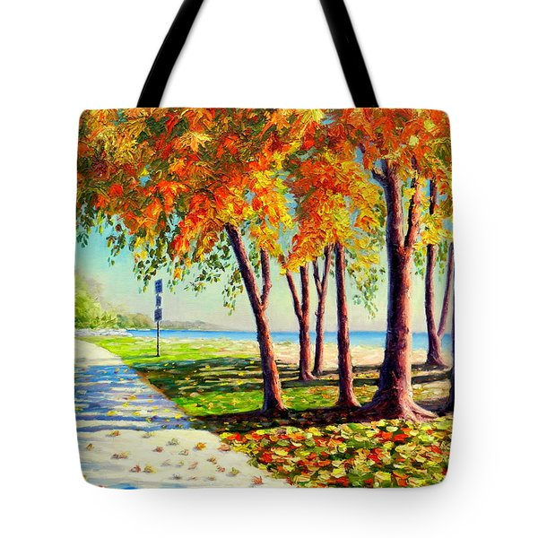 Autumn In Ontario Tote Bag
