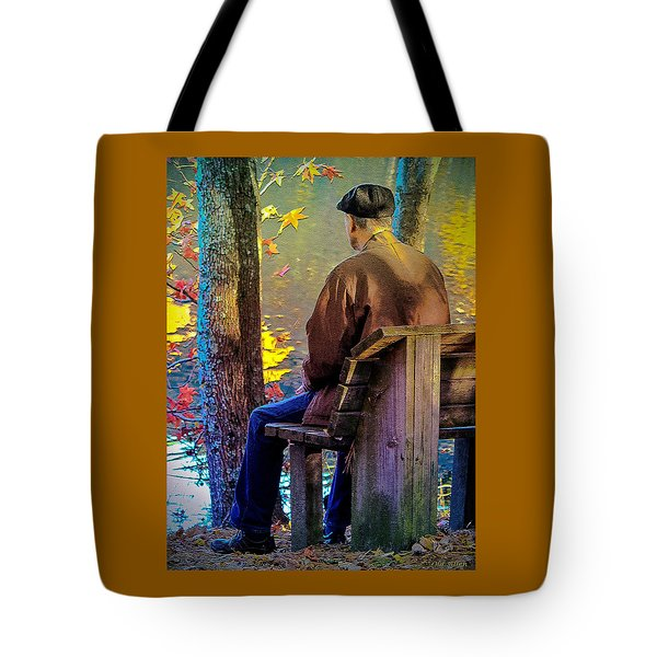 Autumn In Our Lives Tote Bag