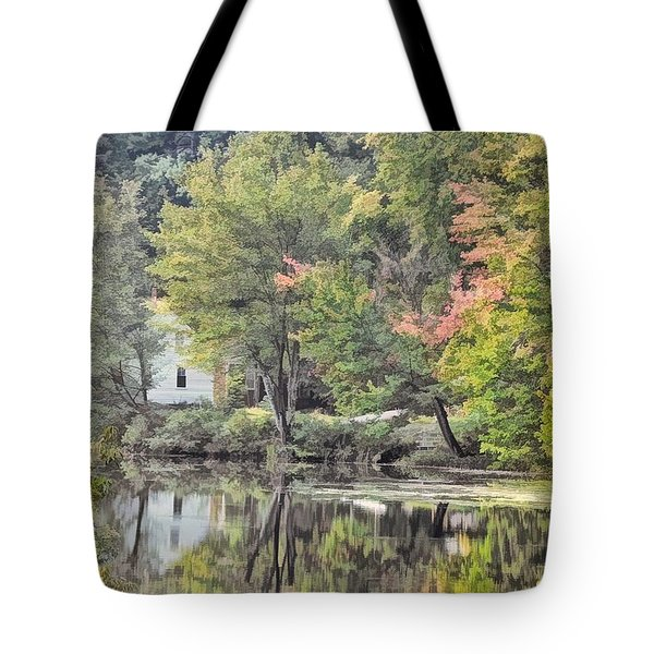 Autumn In Pastel Tote Bag