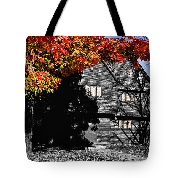 Autumn In Salem Tote Bag