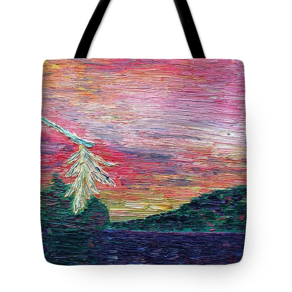 Autumn In The Air Tote Bag