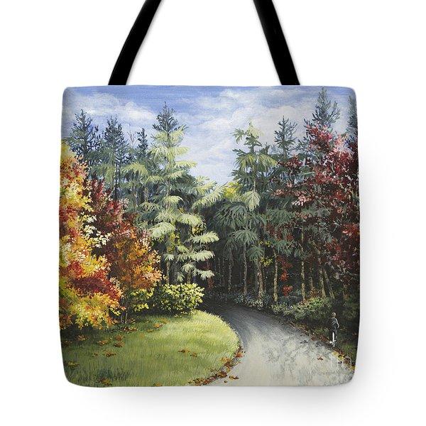 Autumn In The Arboretum Tote Bag