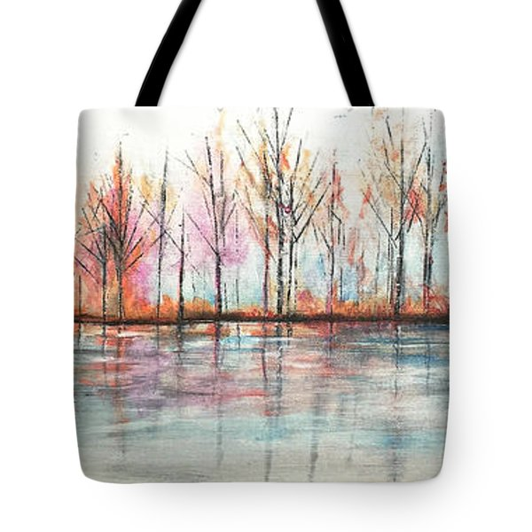 Autumn In The Hamptons Tote Bag