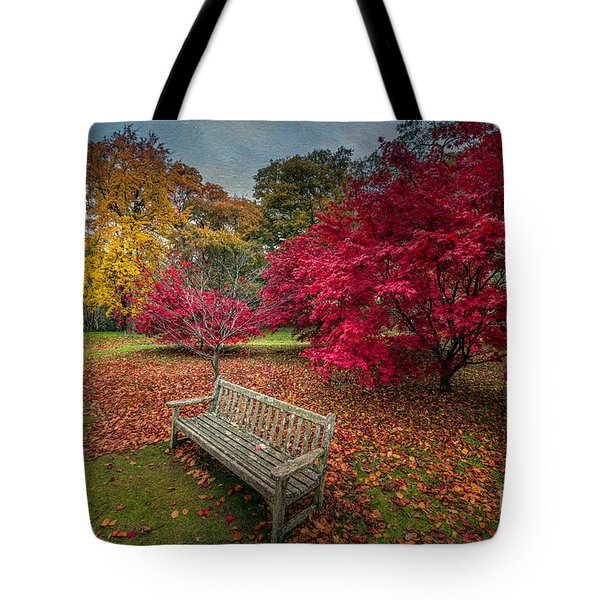 Autumn In The Park Tote Bag