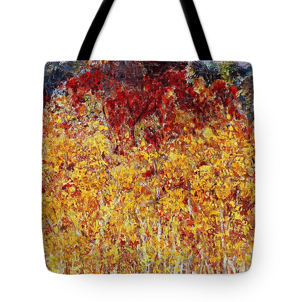 Autumn In The Pioneer Valley Tote Bag by Regina Valluzzi