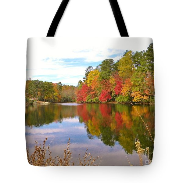 Autumn In The South Tote Bag