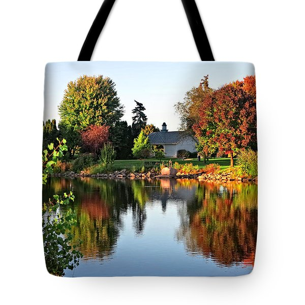 Autumn In Wisconsin Tote Bag