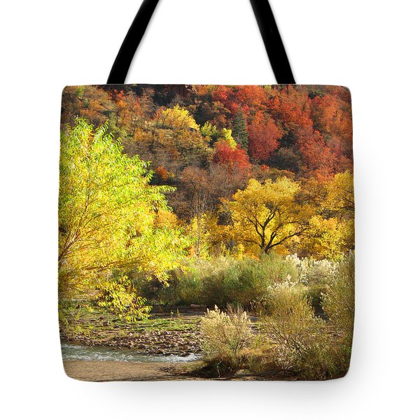 Autumn In Zion Tote Bag