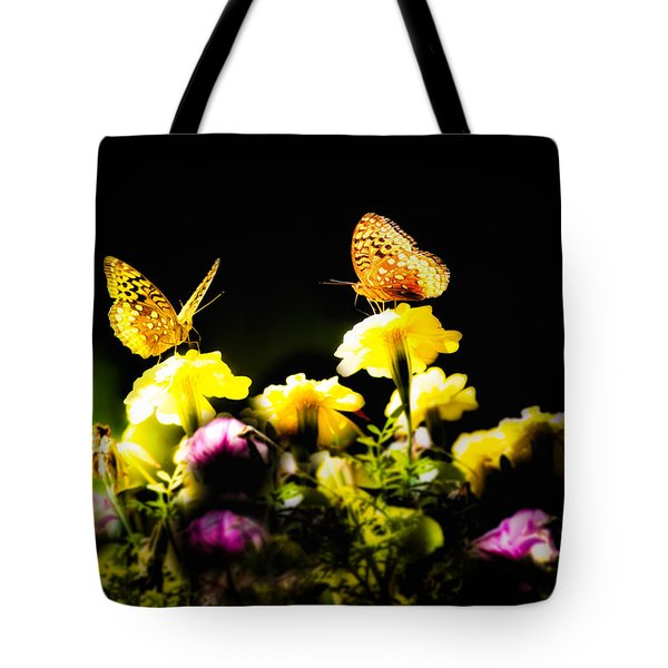Tote Bag featuring the photograph Autumn Is When We First Met by Bob Orsillo