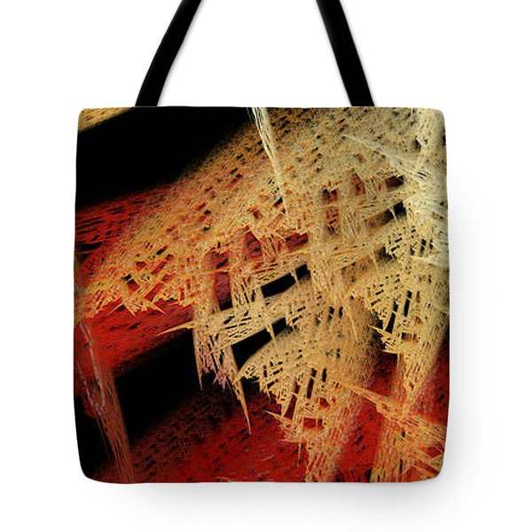 Autumn Lace Tote Bag by Andee Design