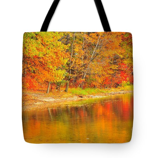 Tote Bag featuring the photograph Fire Balls by Terri Gostola