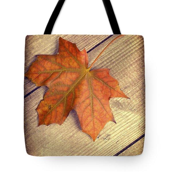 Autumn Leaf Tote Bag by Amanda Elwell