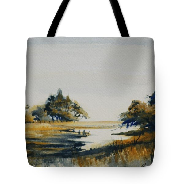 Autumn Marsh Tote Bag