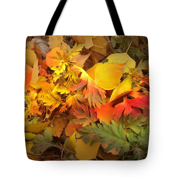 Autumn Masquerade Tote Bag