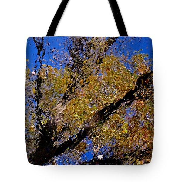 Autumn Memories Tote Bag by Rita Mueller