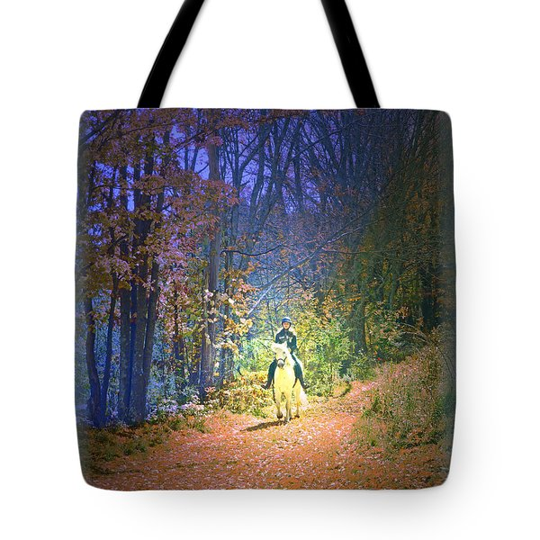 Autumn Memories- The Dreams Of Children Tote Bag