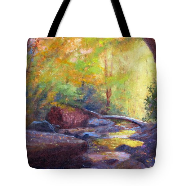 Autumn Memory Tote Bag by Bonnie Mason