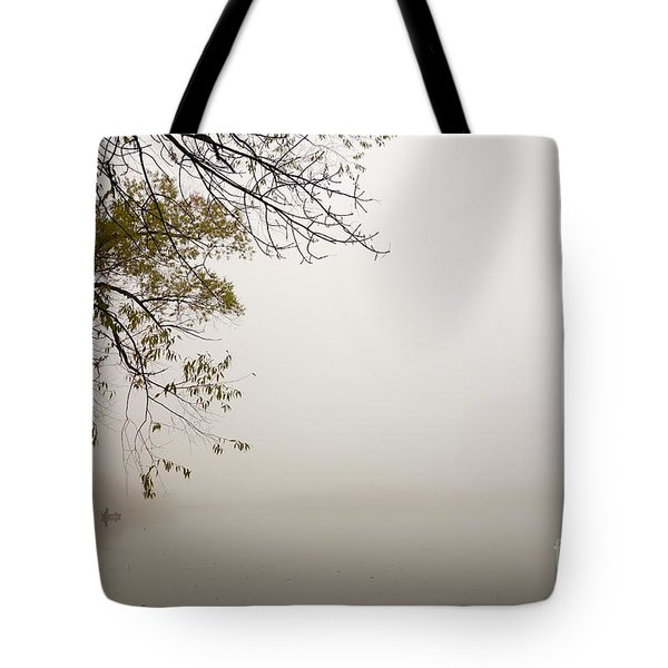 Tote Bag featuring the photograph Autumn Mist by Jacqueline Athmann