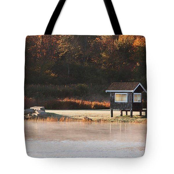 Autumn Mist Tote Bag by K Hines