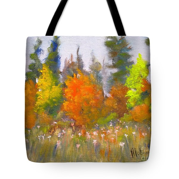Autumn Tote Bag by Mohamed Hirji