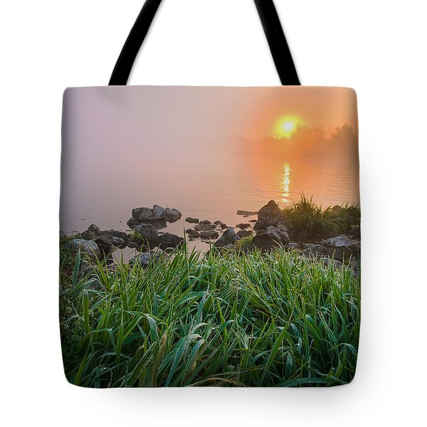 Autumn Morning II Tote Bag by Davorin Mance