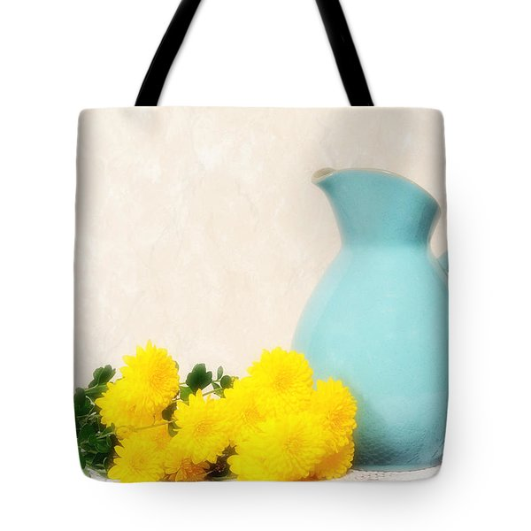 Autumn Mums Tote Bag