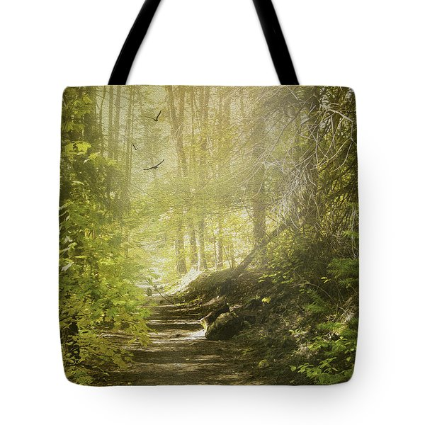 Autumn Myst Tote Bag