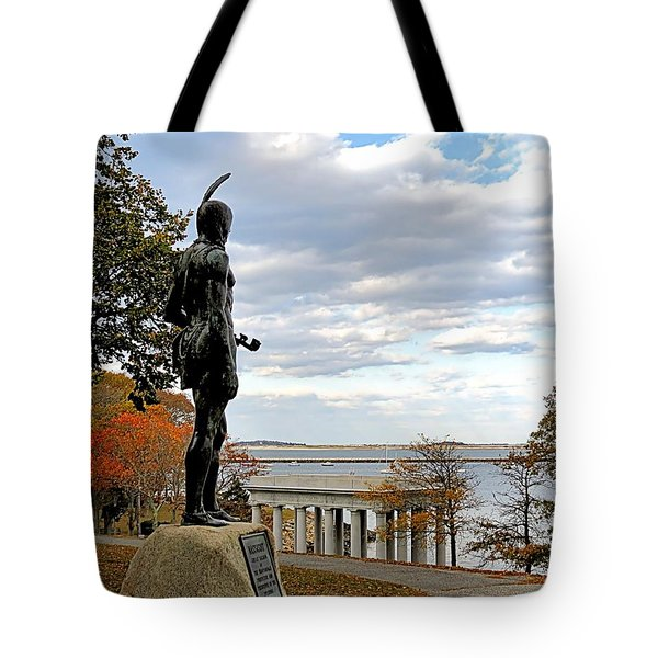 Autumn On Coles Hill Tote Bag