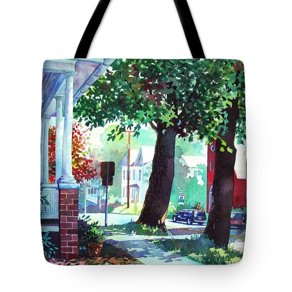 Autumn On East Main Tote Bag