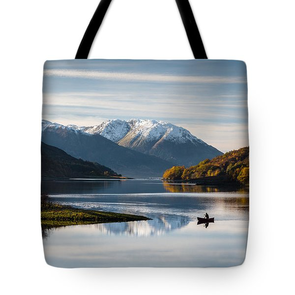 Autumn On Loch Leven Tote Bag