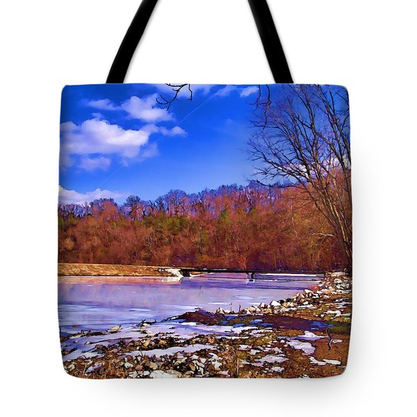 Autumn On The Niangua Tote Bag