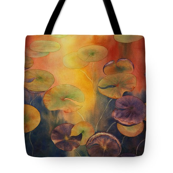 Autumn On Winslow Lake Tote Bag