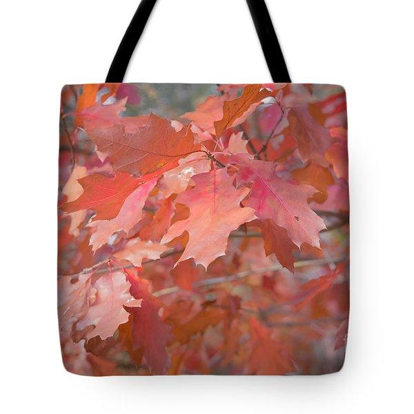 Autumn Paintbrush Tote Bag