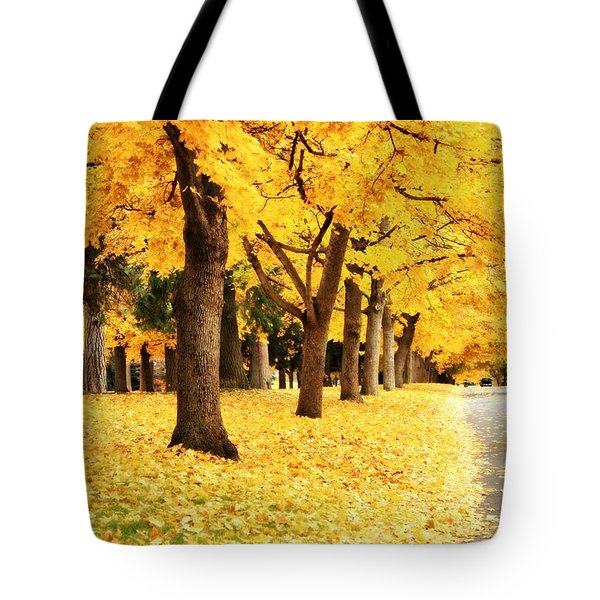Autumn Perspective Tote Bag