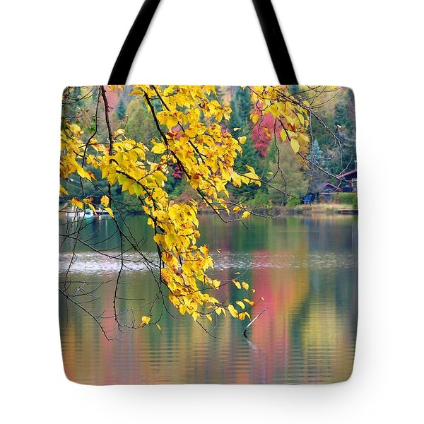 Autumn Reflection Tote Bag