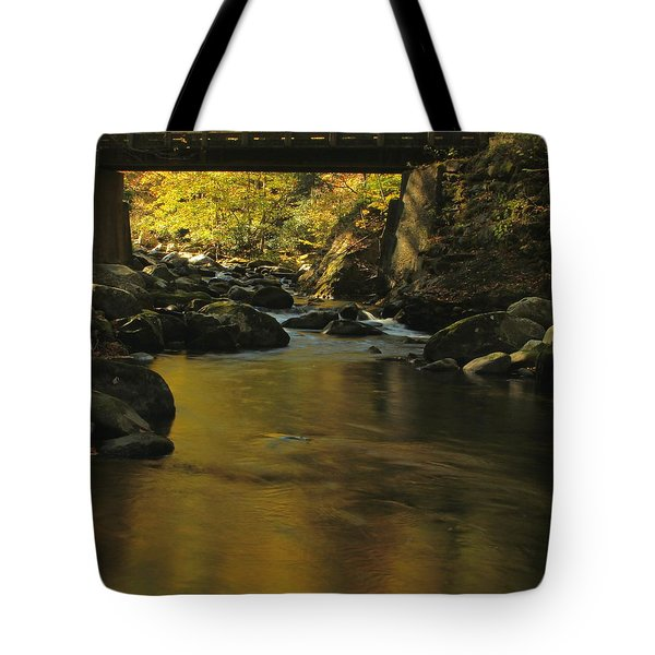 Autumn Reflections In Tennessee Tote Bag by Dan Sproul