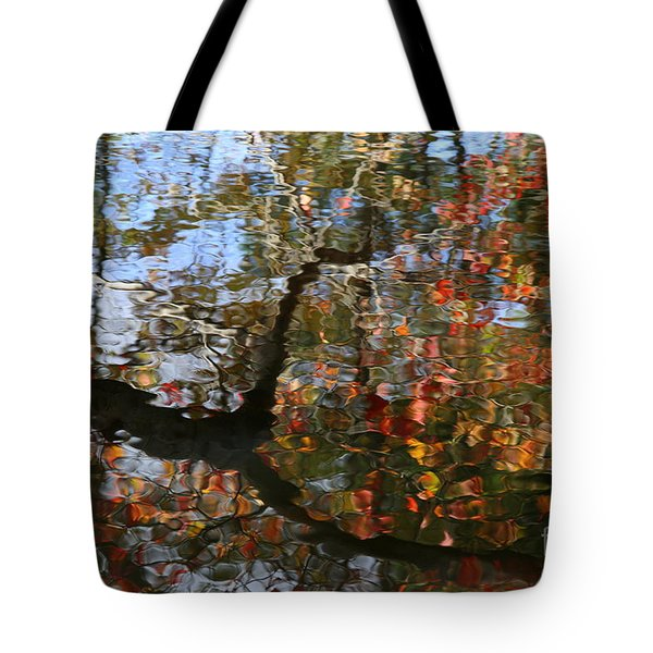 Autumn Reflections  Tote Bag by Neal Eslinger