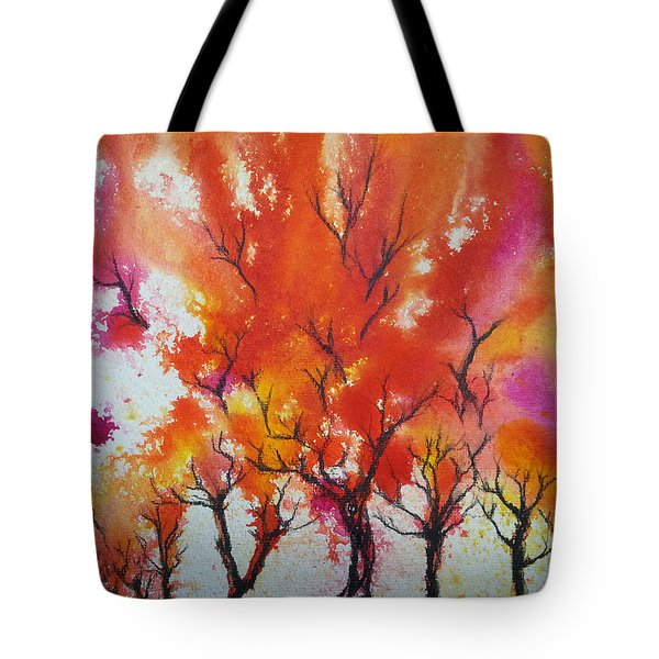 Autumn Riot Tote Bag