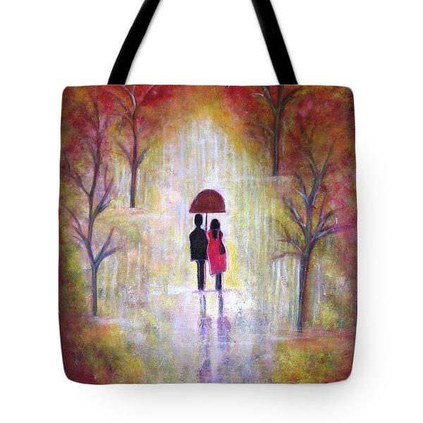 Autumn Romance Tote Bag