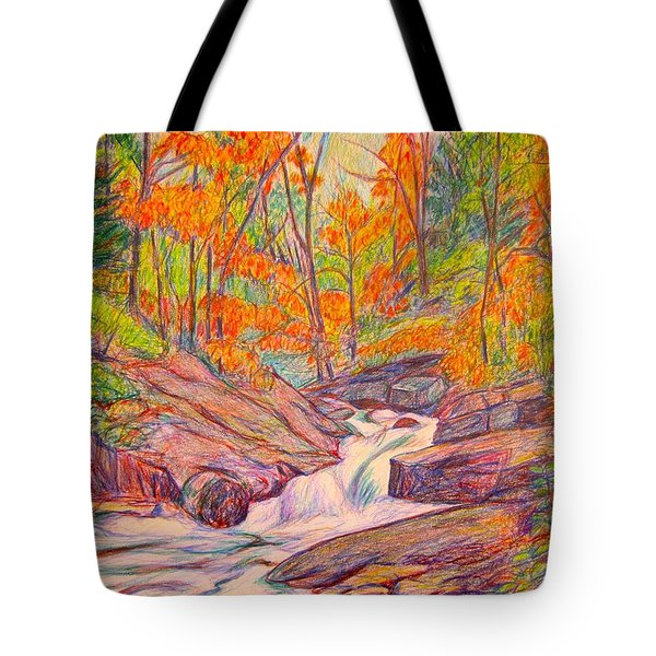 Autumn Rush Tote Bag by Kendall Kessler