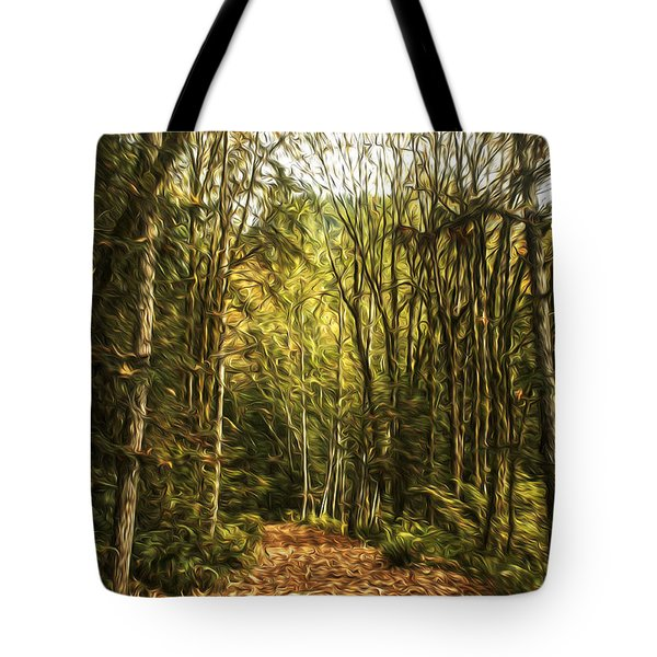 Autumn Tote Bag by Sandi Mikuse
