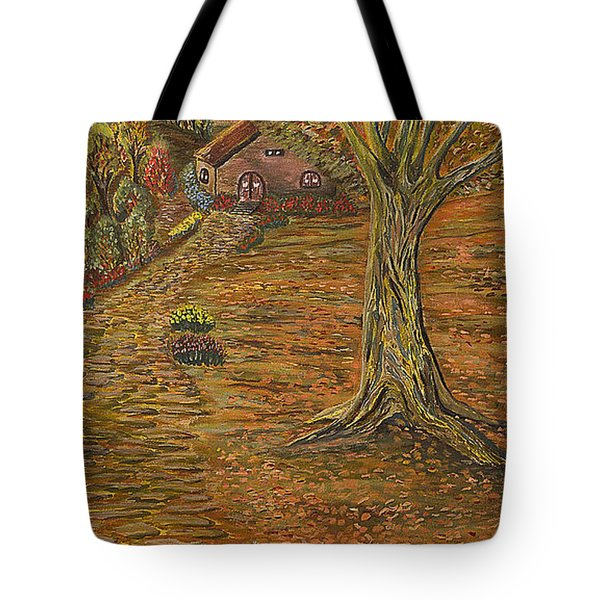 Autumn Sequence Tote Bag by Felicia Tica