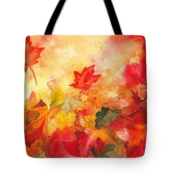 Autumn Serenade  Tote Bag by Irina Sztukowski