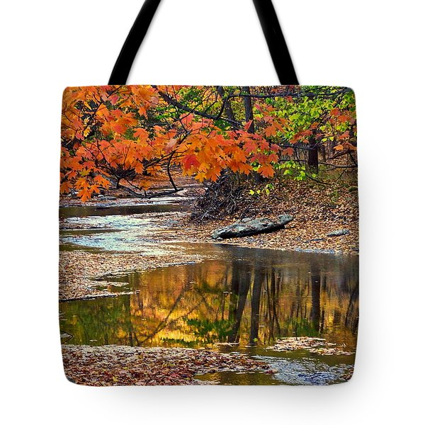 Autumn Serenity Tote Bag by Frozen in Time Fine Art Photography